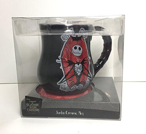 Jack Skellington Jumbo Ceramic Mug - The Nightmare