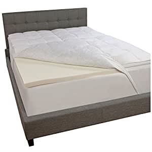 Amazon Com Comfort Revolution Down And Memory Foam