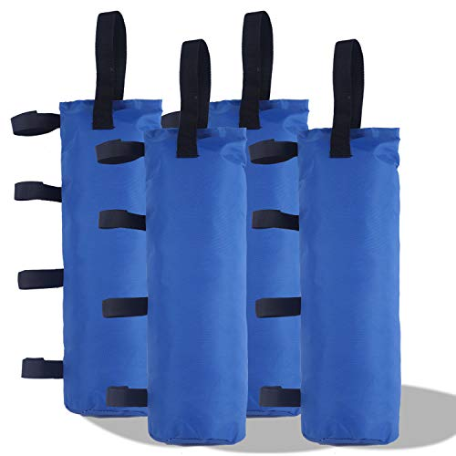 ABCCANOPY Outdoor Pop Up Canopy Tent Gazebo Weight Sand Bag Anchor Kit-4 Pack ()