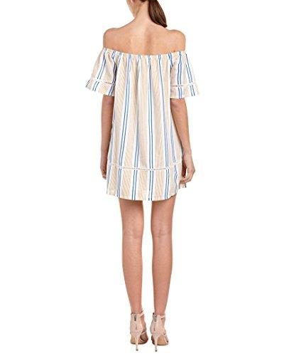 Shift The Dress M Womens Shoulder Off O Yellow A J xwFqAY11