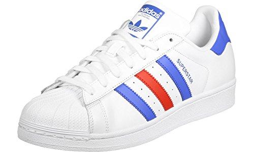 adidas Superstar Foundation Scarpa white/blue/red