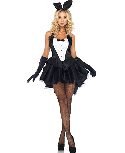 Leg Avenue 83951 Tux And Tails Bunny - Small/Medium - Black/White]()