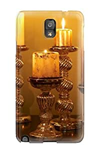 New Arrival Case Cover With VWSTjlN8661RphjW Design For Galaxy Note 3- Candle Lights