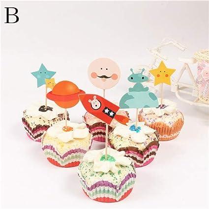 Amazon Com Cake Decorating Supplies 24pcs Kids Party