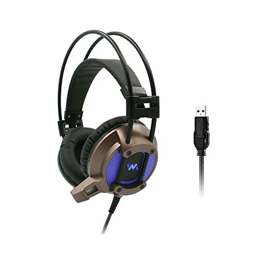 EDCM Bluetooth Earphone, Game Internet Cafe Headset, USB Cable Lighting, 7.1 Channel, subwoofer Esports WiFi Headset, from EDCM