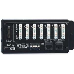 On-Q / Legrand 1267062-01 1 x 6 Basic Telecom Module