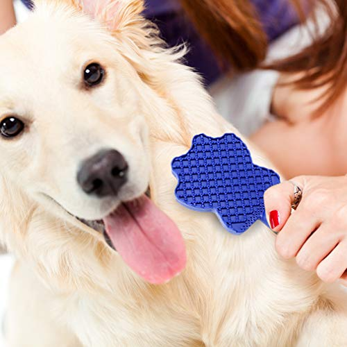 PingPing Pet hair Removal Groomer, Grooming Brush, Effective Grooming Tool, Magic Pets Brushing Tool, Pets Detangling - Perfect for Car, Clothing, Furniture, Couch, Sofa, Carpet