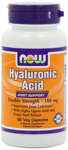 UPC 733739031556, NOW Foods Hyaluronic Acid 100mg 2X Plus, 60 Vcaps