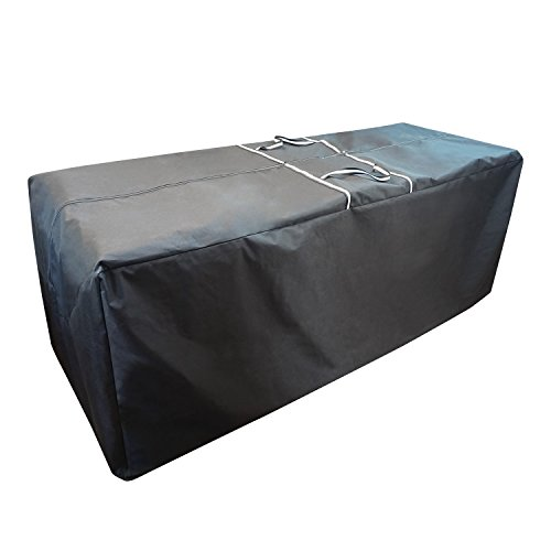"CKClub 78"" L x 30"" W x 28"" H Oversize Cushions/Covers/Christmas Tree Storage Bag Water Resistant Heavy Duty, Black"