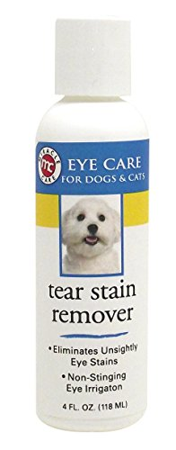 Miracle Care Tear Stain Remover 4 ounce Bottle