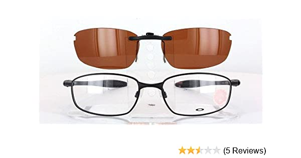 e23aa8bbecb Amazon.com  OAKLEY BLENDER-6B-OX3162-55X17 POLARIZED CLIP-ON SUNGLASSES  (Frame NOT Included)  Health   Personal Care