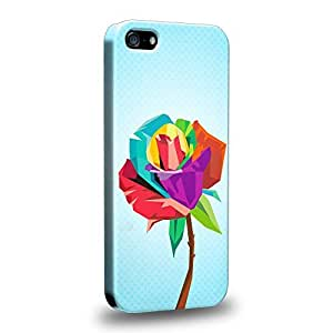 Imaginative Premium Designs Art Gel Cubist Bloom Design Protective Snap-on Hard Back Case Cover for Apple iPhone 5 5s by ruishername
