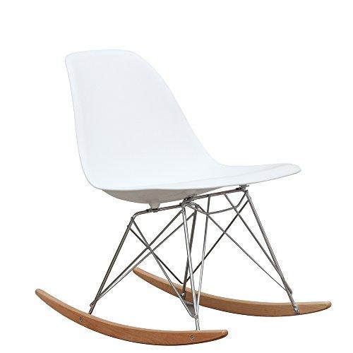 Retro Rocker Side Chair For Sale