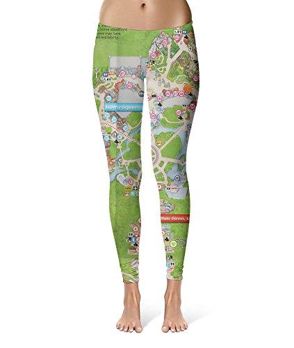 Queen of Cases - Legging de sport - Femme Vert Green Medium