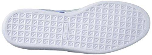 Puma Heren Suède Classic Badge Sneaker, Lapis Blauw Wit, 9 M Ons Lapis Blauw-puma Wit