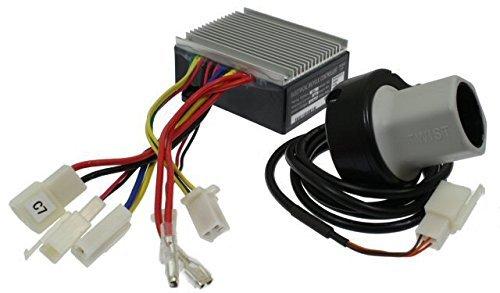 Razor E200 (V13+), E300 (V13+), MX350 (V33+) and Pocket Mod (V45+) Throttle and Controller Electrical Kit - E300 Throttle