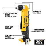 DEWALT 20V MAX Right Angle Drill, Cordless, Tool