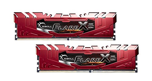 G.Skill 16GB (2 x 8GB) Flare X Series DDR4 PC4-19200 2400MHz Memory Desktop Memory Model F4-2400C15D-16GFXR