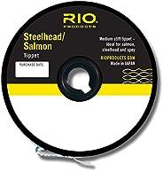 Rio Fly Fishing Tippet Salmon/Steelhead Tippet 30yd 10Lb Fishing Tackle, Glacial Green