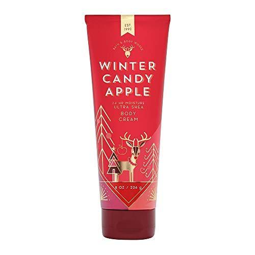 Bath & Body Works Winter Candy Apple Ultra Shea Body Cream, 8 Ounce (Winter Candy Body Spray)