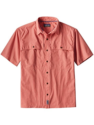 nd Hopper II Shirt - Carve Corl - 3X-Large (Patagonia Red Shirt)