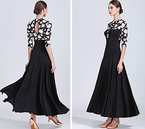 Dress Latin Dress Ballroom Dress Skirts Tango Moroccan CHAGME Waltz Style Skirts vPAxnIwa