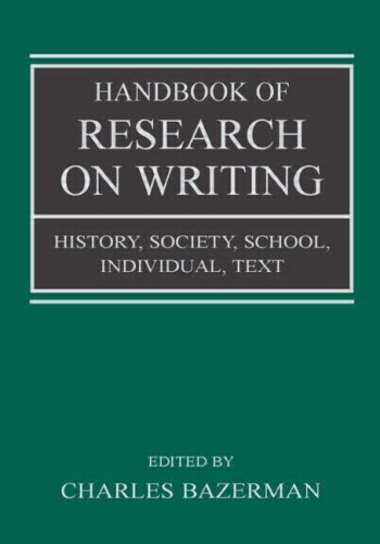 Download Handbook Of Research On Writing: 1st (First) Edition pdf epub