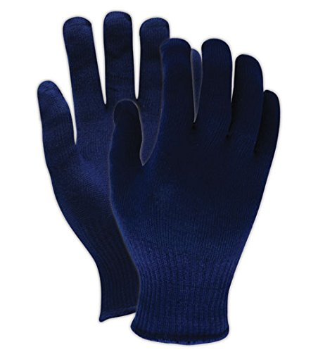 Cotton Ansell Gloves (Ansell INSULBL ThermaKnit Insulator Insul Lightweight Insulating Knit Gloves)