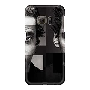 Shock-Absorbing Hard Phone Case For Samsung Galaxy S6 (IUy8946PhKW) Customized High Resolution Massive Attack Band Pictures