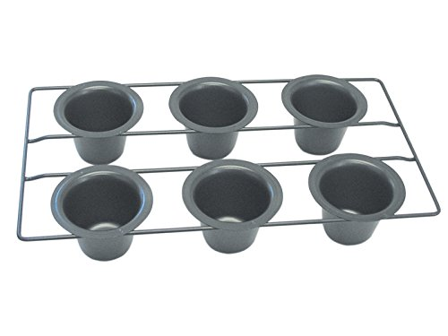 R&M International 2391 Non-Stick 6-Cup Popover Pan by R & M International