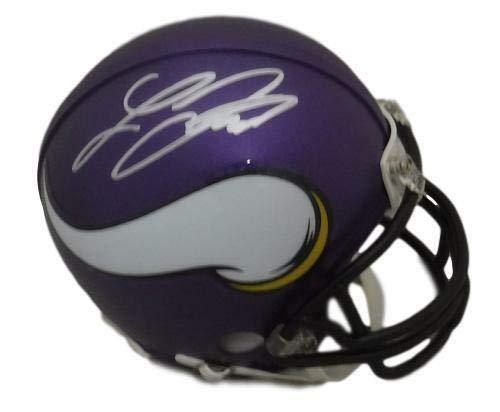 - Laquon Treadwell Autographed Minnesota Vikings Riddell Mini Helmet JSA