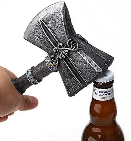 ZHFYY Abrebotellas Axe con Mango extraíble Abridor de Botellas Creativo Abridor de Botellas de Cerveza Herramienta de Cocina para el hogar Fácil de Usar