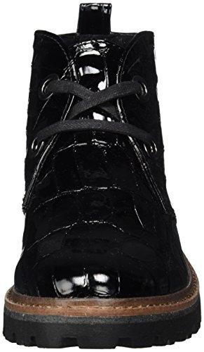 Marco 25200 Stivali pat Donna Nero Str Tozzi black 88pw5r