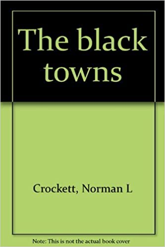 How To Be Black Book >> The Black Towns Norman L Crockett 9780700601851 Amazon