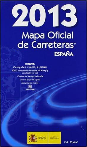 MAPA OFICIAL DE CARRETERAS 2013. Edición 48.: Amazon.es ...