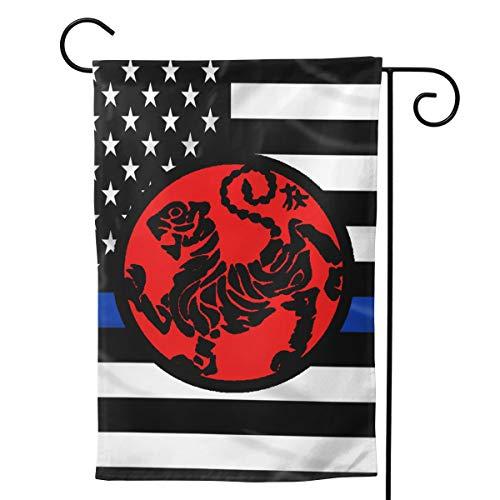 (Ayok Shotokan Tiger Home Garden Flag Double-Sided Welcome Flags Decorative Flag 12.5