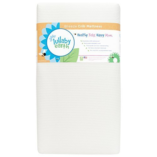 Lullaby Earth Breeze 2- Stage Crib Mattress - White by Naturepedic