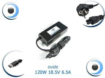 Visiodirect - Adaptador de corriente / cargador para ordenador portátil HP Pavilion ZD8000: Amazon.es: Electrónica