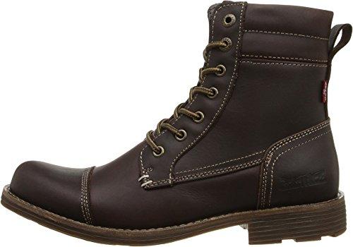 Levis Men's Lex II Chukka Boot, Dark Brown, 9 M US