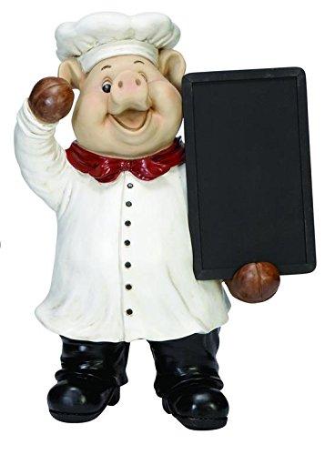 Deco 79 Poly-Stone Chef Chalk Board, 19 by 15-Inch (Chefs Chalkboard compare prices)