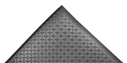 NoTrax 508 PVC Diamond Cushion Anti-Fatigue Floor Mat, 2' Width x 6' Length x 1/2
