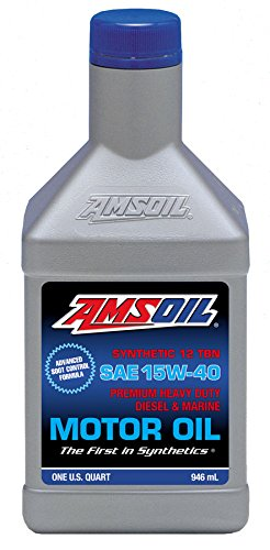 AMSOIL FULL SYNTHETIC Pre- 2007 Diesel oil 15W-40 12 Quarts by Amsoil