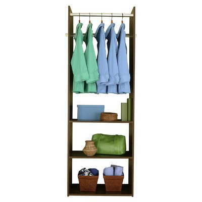 Easy Track RV1472 T Hanging Tower Closet, Truffle, 72 Inch