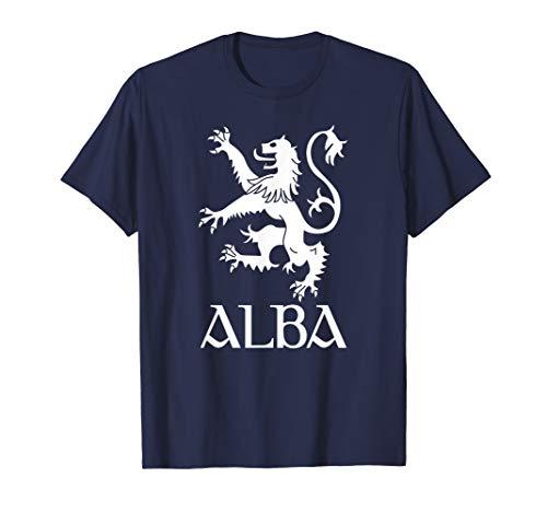 (Alba Scotland Lion Rampant Shirt Scottish Coat Of Arms Gift T-Shirt)