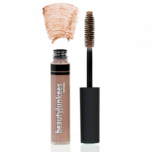 Tinted Eyebrow Gel Brow Mascara - Best Blonde Tint Browgel Filler for Natural Eye Brow Sculpting, Shaping, Volumizing, Setting, Sealer, Tamer, Made in the USA, Paraben Free, Maquillaje Para Cejas (Best Eyebrow Filler For Blondes)