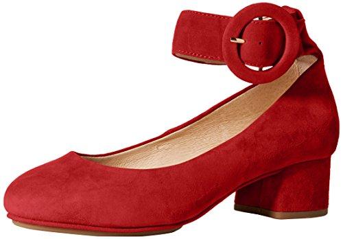 Yosi Samra Women's Natalie Pump, Pompeian Red, 9 M US - Natalie Pumps