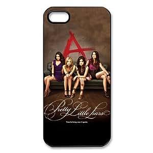 Pretty Little Liars Design Rubber Case Cover For Iphone 5/5s
