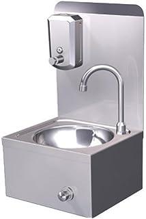 Interessant Casselin clv1 Handwaschbecken, mit Kniebedienung, Edelstahl  ZO69