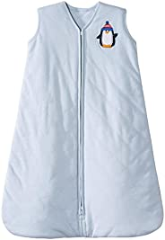 Halo Innovations SleepSack Wearable Blanket Winter Weight-Penguin, Blue, Small
