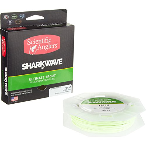 Scientific Angler WF-7-F Sharkwave Trout Mist Fly Line, G...